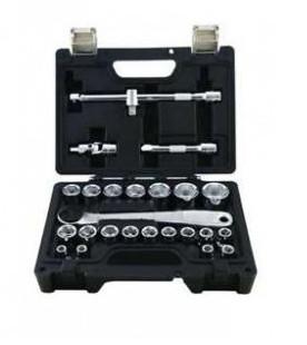 Dugókulcskészlet 8-32mm-ig 25-részes BETA EASY