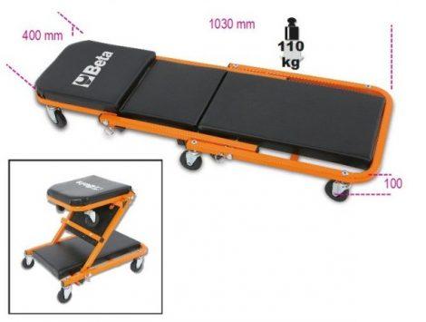 Aláfekvő ágy és ülőke 2-funkciós BETA 3002