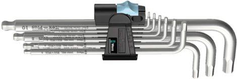 Imbuszkulcs készlet 1.5-10mm-ig 9-részes nemesacél (INOX)