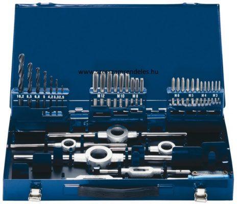 Kézi menetfúró, metsző készlet HSS, M3-M12, 44 részes  Forum Professional Solutions