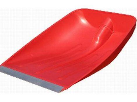 Hólapát műanyag, fém élvédővel