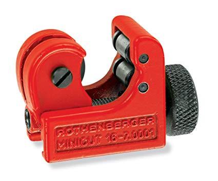 Mini Cut 2000 görgős csővágó és görgő 6-22mm-ig