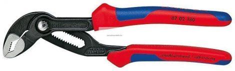 Knipex Cobra vízpumpa fogó 180mm többkomponensű nyéllel