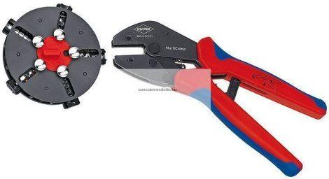 Knipex MultiCrimp krimpelőfogó + betétek 5db
