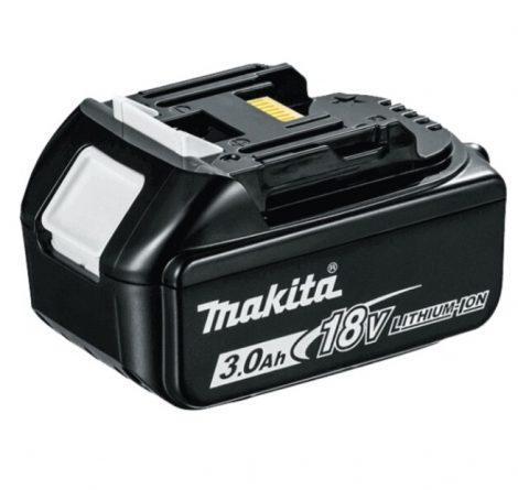 Makita akkumulátor eredeti, 18V/3Ah Li-ion