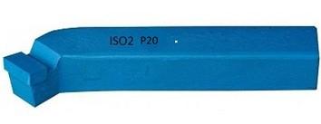 Esztergakés hajlított, forrasztott lapkás jobbos P20, 45-fokos