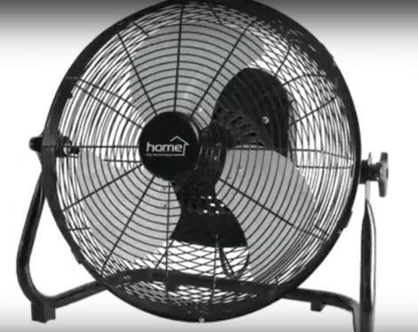 Padlóventilátor oszciláló mozgású 40cm-es 50W