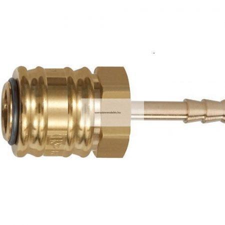 Zárócsatlakozó 6mm-es tömlőcsatlakozással