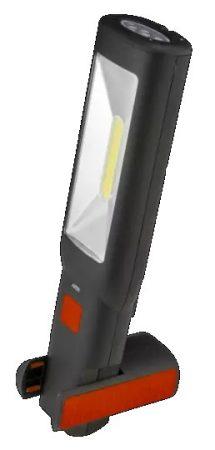 LED-es szerelőlámpa tölthető, töltővel